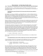 lecture 13 handout - what is entropy