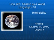 10-Ling 122-10 - Intelligibility