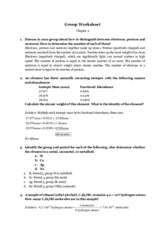 Group Worksheet Chapter 2
