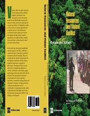Naturalresourcebook and violent conflict