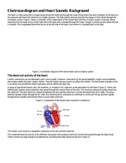 Electrocardiogram and Heart Sounds