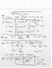 MATH 3E03 Fall 2010 Practice Test Solutions