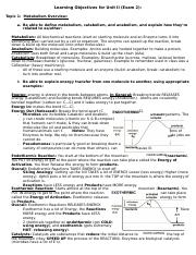 Microbiology: Study Guide Test 2