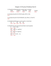chapter 15 practice problems part ii answers