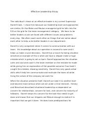 How To Write An Application Essay For High School  Pages Effective Leadership Essaydocx Sample Essays High School Students also Health Promotion Essay Busf Of Org Commuaeffective Leadership  Effective  Compare And Contrast High School And College Essay