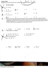 Chapter 2 Test Review