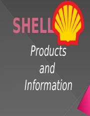 Shell Information and Products.pptx