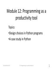 Module12 - Programming as a productivity tool.pdf