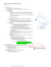 Chapter 2 Research Strategies and Designs Notes