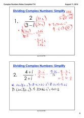 Complex Numbers Part 3