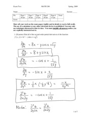 MATH_200_200803_exam_2_with_solutions