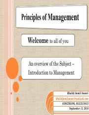 An overview of the Course - Introduction to Management.pdf