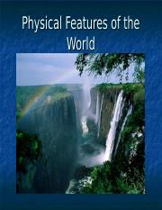 Physical Features of the World.ppt