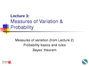 10 Lecture 3 - Probability