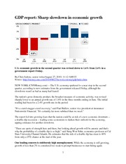 GDP slowdown_CNN Money_August 27 2010