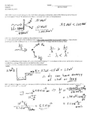 Solutions Exam B Fall 2011