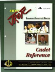 Cadet Reference 6th Edition.docx