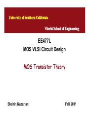 Unit3-MOSTheory-EE477-Nazarian-Fall11