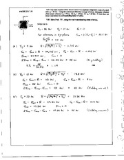 835_Mechanics Homework Mechanics of Materials Solution