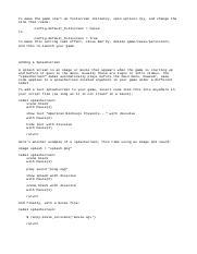 RenPy - Animation and Transformation Language - Ren'Py Script