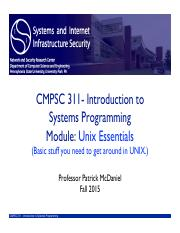 03cmpsc311-unix-essentials