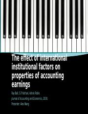 The effect of international institutional factors on properties.pptx