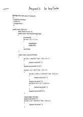 CPSC 112 loop snake assignment