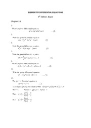 ELEMENTRY DIFFERENTIAL EQUATIONS 5.6