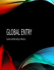 Global Entry Morocco.pptx