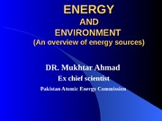 NUCLEAR ENERGY AND SUSTAINABLE DEVELOPMENT