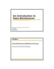 Data Warehouses.pdf
