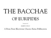 Euripides-The Bacchae