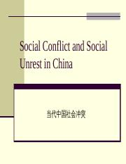 CS10_Social Conflict in China(1).ppt