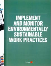 BSBSUS401 -  Implement and monitor environmentally sustainable work practices.pdf