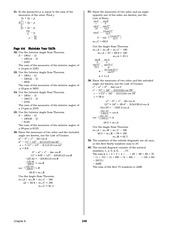 Pre-Calculus Homework Solutions 246
