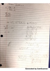 X squared probability notes