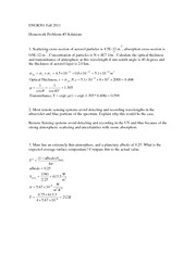 Engr 301 Hw Assignment Solution 3
