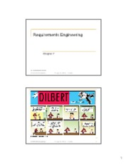 07 Requirements Engineering