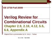 Verilog-Background
