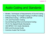 Leture-03-audiocoding