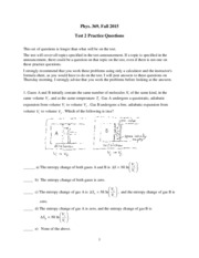 Phys 369 2015 test 2 practice questions