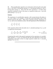 Homework D Solutions on General Physics