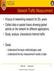 lecture_05_network traffic measurement