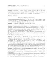 MATH 544 Fall 2014 Assignment 8 Solutions