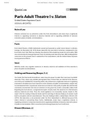 1Paris Adult Theatre I v. Slaton - Case Brief - Quimbee.pdf