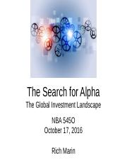 The_Search_for_Alpha___Investment_Landscape_10_17_16 Final