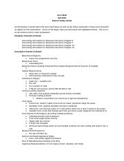 Accounting 2010 - Fall 2015 - Exam 3 Study Guide-2