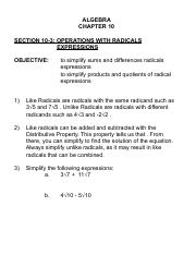 ALG 10-3 Operations With Radicals Expressions.pdf