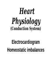 Heart Physiology-student