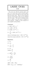 CH 301 Exam 1 2014-solutions